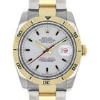Rolex Datejust 36 116263-WHTSTO White Index Turn-O-Graph...