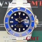 Rolex Submariner Steel & Gold Ceramic Blue 116613