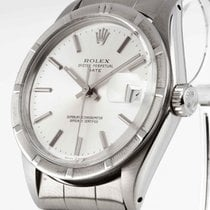 Rolex Oyster Perpetual Date Automatik Stahl an Oysterband Ref....