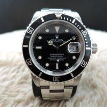 Rolex SUBMARINER 16610 Black (T25) Dial with Black Bezel