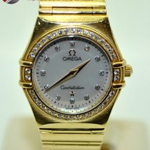 Omega Constellation Gold and Diamonds