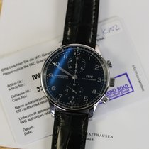 IWC PORTOGHESE STEEL CHRONO PORTUGUESE 3714 FULL SET