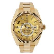 Rolex SKY-DWELLER 42mm 18K Yellow Gold Watch 2015