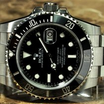 Rolex Submariner with Date Box Papers Card 2015