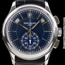 Patek Philippe 5905p Platinum Annual Calendar Flyback Chronogr...