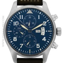 IWC stainless steel Le Petit Chronograph