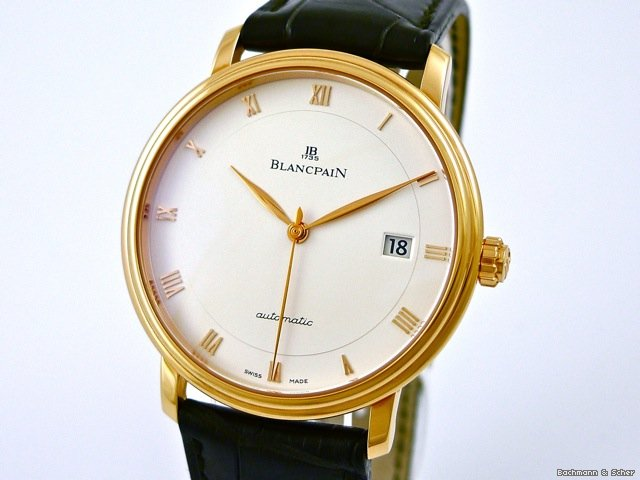 Blancpain , Villeret Automatic, 18k Rose Gold, Ref. 6223
