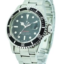 Rolex Used 1680 Red Submariner - circa 1969 - Steel on...