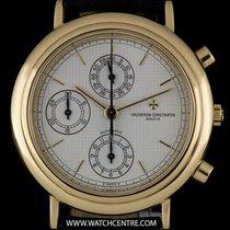 Vacheron Constantin 18k Y/G Silver Pyramid Dial Chronograph...
