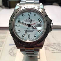 Rolex Explorer II Steel White Gial 16570T