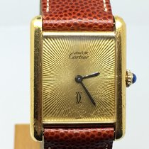 Cartier MUST 30MM NICE CHAMPAGNE DIAL GOLD PLATED MANUAL