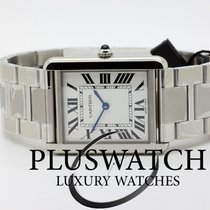 Cartier Tank Solo Large Silver Dial W5200014 T