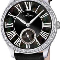 Candino Classic C4596/3 Damenarmbanduhr Mit Kristallsteinen