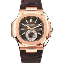 Patek Philippe 5980R-001 Nautilus Mens Rose Gold watch