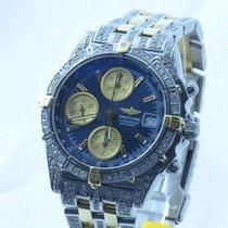 Breitling Chronomat Vitesse Chronograph 39mm Stahl/gold...