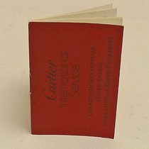 Cartier International Service Booklet