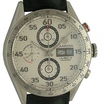 TAG Heuer Carrera Calibre 16 Stahl Automatik Chronograph Day...