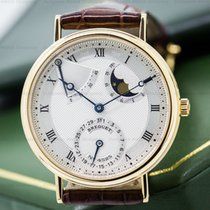 Breguet 3137BA/11/986 Classique Power Reserve Moon 18K Yellow...