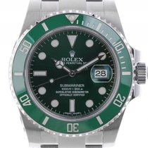 Rolex Submariner Date Verde LV Stahl Keramik Automatik 40mm...