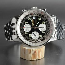 Breitling Old Navitimer II Chronograph mit Stahlband
