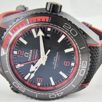 Omega Seamaster Planet Ocean GMT Deep Black Red