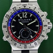 Bulgari Diagono GMT Automatic 40mm Box&Papers