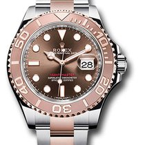 Rolex 116621 Yacht-Master Stainless Steel&18K Everose Gold...