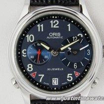 Oris Worldtimer 690 7486 40 65 full set NOS