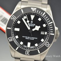Tudor Pelagos Black Dial Titanium Bracelet Watch 25500TN