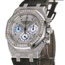 Audemars Piguet Royal Oak Chronograph 18K White Gold Diamonds