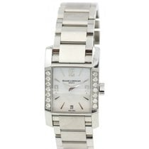 Baume & Mercier Ladies Diamond  Diamant Stainless Steel...