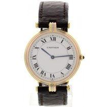 Cartier Ladies Cartier Vendome 18k Gold Trinity Watch