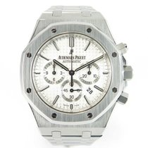 Audemars Piguet Royal Oak Chrono 41mm 26320ST with papers