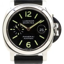 Panerai PAM 104 Luminor Marina Automatic Date 44mm Stainless...