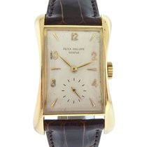 Patek Philippe 18k Yellow Gold Men's Wristwatch