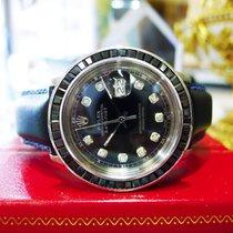 Rolex Oyster Perpetual Datejust Steel Sapphire Diamond Watch