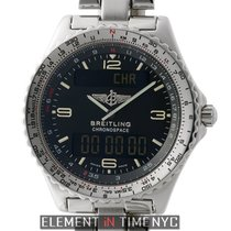Breitling Chronospace Multifunction Stainless Steel 42mm