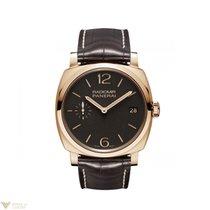 Panerai Radiomir 1940 18k Rose Gold Leather Men's Watch