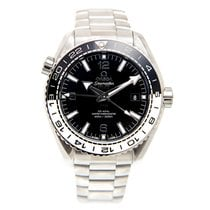 Omega Seamaster Stainless Steel Black Automatic 215.30.44.22.0...