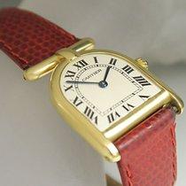 Cartier Calandre Romane Damen Quarz 750/18K Gelbgold Top Zustand