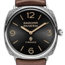 Panerai PAM00672 Radiomir Firenze 3 Days Accaiao Engraved in...