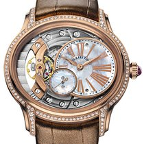 Audemars Piguet Millenary Hand-Wound Ladies Rose Gold Diamond...