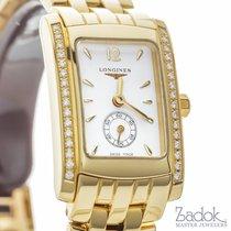Longines Dolce Vita 19.80x24.50mm 18k Yellow Gold Watch...