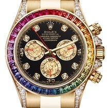 Rolex Daytona Yellow Gold Rainbow 116598 RBOW