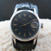 """Rolex OYSTERDATE """"PERPETUAL"""" 6518 Original Black..."""