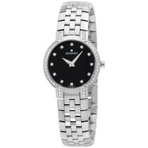 "Movado Women's 605586 """"faceto"""" Stainless..."