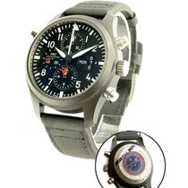 IWC Pilot Double Chronograph Top Gun