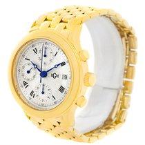 RGM 18k Yellow Gold Chronograph Mens Watch 101