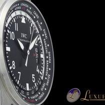 IWC Fliegeruhr Pilot Worldtimer UTC Date Edelstahl mit...