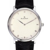 Blancpain Ultra Slim Automatic 18K White Gold Case 40mm G
